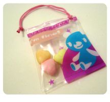 Plastic bag charms sweeties by kickass-peanut