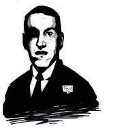 H.P. Lovecraft by JamesRiot