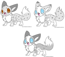 Eevee Pup Request 41 by sam-speed