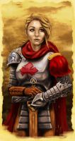Knights of Canada #1 (Laura Vandervoort) by cluis