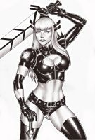 MAGIK, SALE ON E-BAY AUCTION NOW !!! by carlosbragaART80