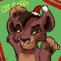 Xmas Kovu by Juffs