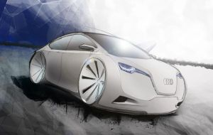 Audi sketch by talesytales
