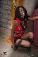 Steampunk Justice Lee in the Chinese Alley by PhotosbyRaVen