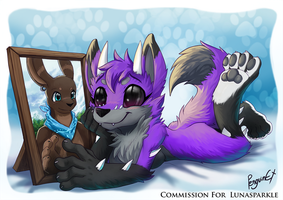 Commission for lunasparkle by PenguinEXperience