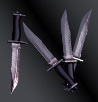 Sakuya's Knives by Primantis