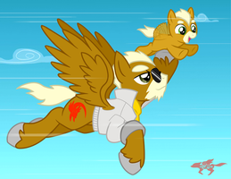 Flying Lesson by StarFox-Saiyan