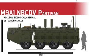 M9A1 NBCDV Partisan by Afterskies