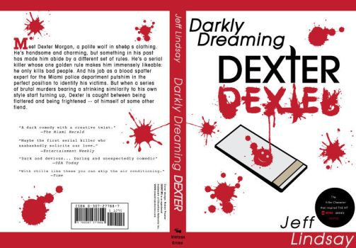 Darkly Dreaming Dexter Book Cover by Robbs-Designs