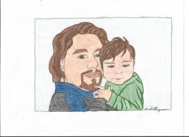 Father and son by AmandaFerguson070707
