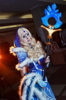 Rylai the Crystal Maiden by AkinaGasai