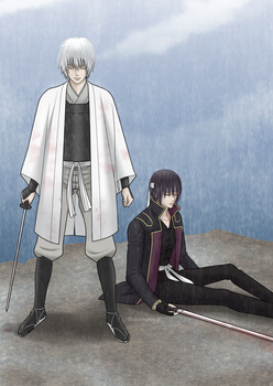 GINTAMA xx Yasha x Toku xxSadness and rain xx by Xhaowrong