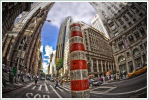 55th and 5th - NYC by Tomoji-ized