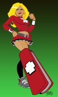 Swiss Army Woman UPDATED by wombatty10