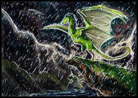 ACEO Stormsplitter by Amadoodles
