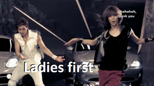 Ladies first by SHINeeWTF