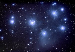 Pleiades open cluster