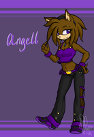 Angell - Art Trade by kittydee