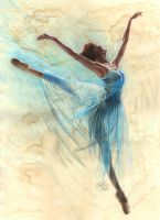 Blue Ballerina by missmuffin90