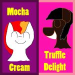 Mocha Cream and Truffle Delight Card Sleeves by MasterYubel