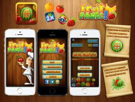 iphone games - Fruit Panic by amorco