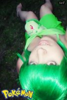 Cosplay Chikorita (Pokemon) 3 by SaFHina