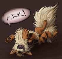 Pokemon Challenge: Arcanine by CliffeArts