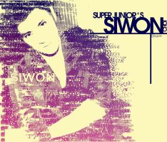 Siwon - typography by 7even-is-jet