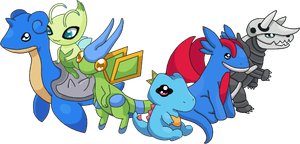 Totodile Team by SALBP