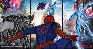 THE AMAZING SPIDERMAN 2 MY VERSION POSTER by thejigsawrlm