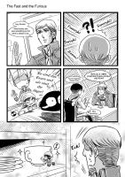 SNK doujin preview page II by darkn2ght