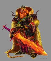 Fire Giant King by orangus
