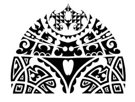 Maori shoulder design by ScribblingTend