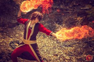 Prince Zuko  -Avatar :the last air bender - by Ramzioueslety