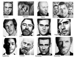 2009 Drawing Summary by Doctor-Pencil