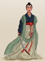 Song Era Mulan by Wickfield