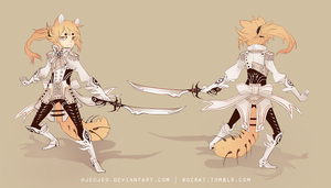 (closed) Fantasy cat design by HJeojeo