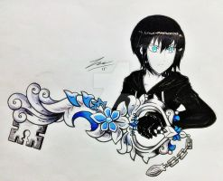 Xion and Puppet Fragments  by ExusiaSword