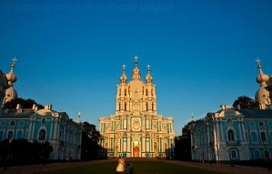 Smolny Convent by iconicarchive