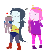 Marcy X Pb by SomeGuyOnTheNet00