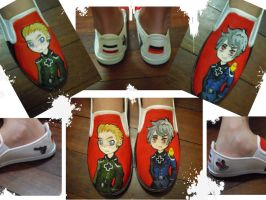 APH Germany and Prussia Shoes by ChibixBunny