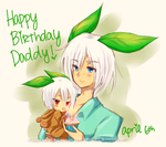 : Birthday Dad : by maikyuu