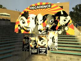 Decadence concert Posters by Glaber