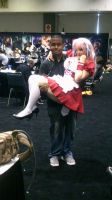 Me and Super Sonico Maid by coreybrown1994