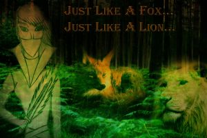 ...Like A Lion...Like A Fox... by DimQueen