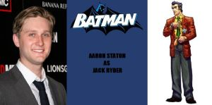 New Batman Fan Cast - Jack Ryder - Aaron Staton by RobertTheComicWriter