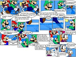 super mario bros page 3 by Nintendrawer