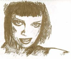Bif Naked Portrait by thepunkmonk