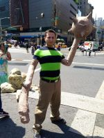 Sandman at Union Square by ruggala08