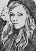 Avril Lavigne by ItsCloctorArt